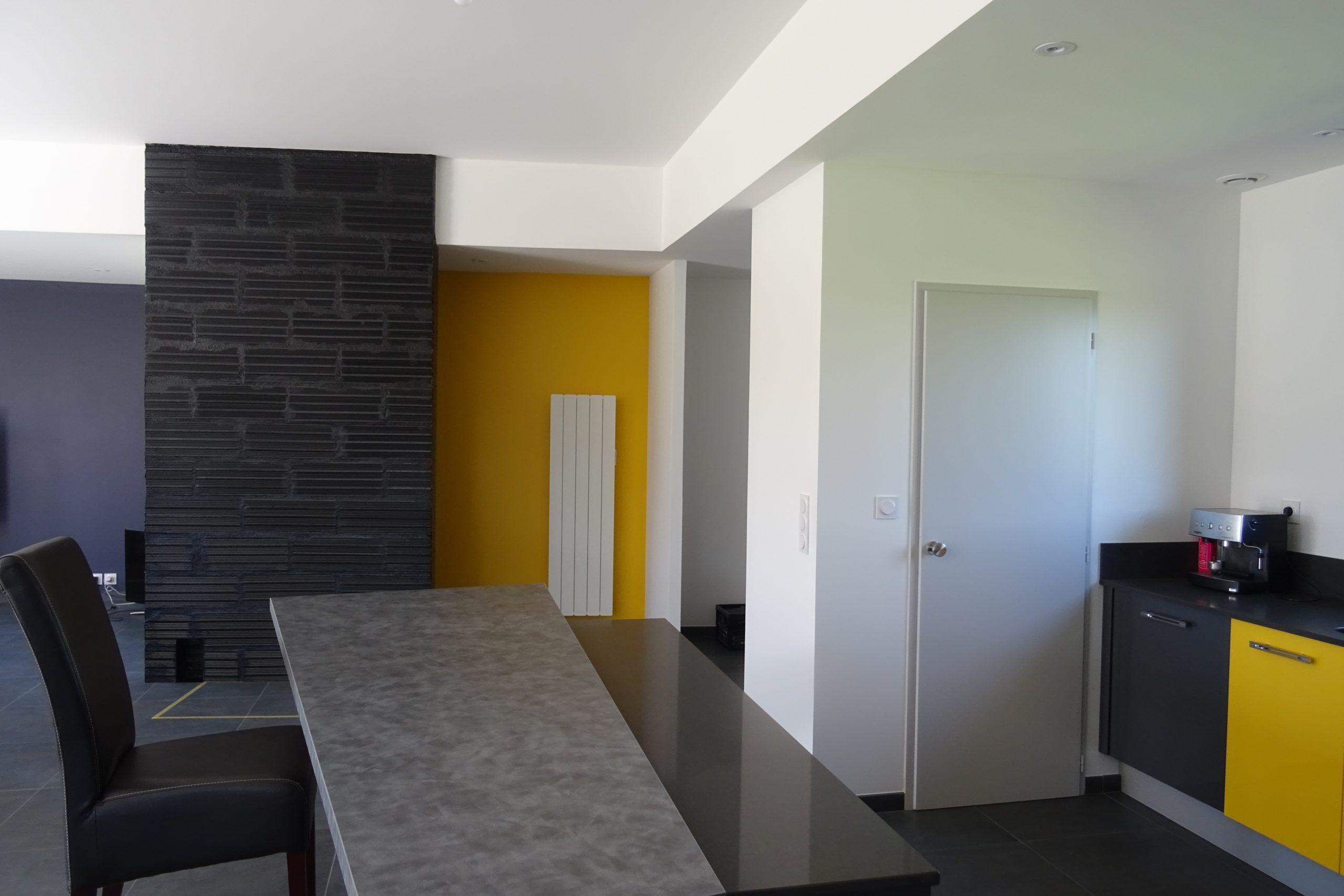Maison privée- Coloration intérieure