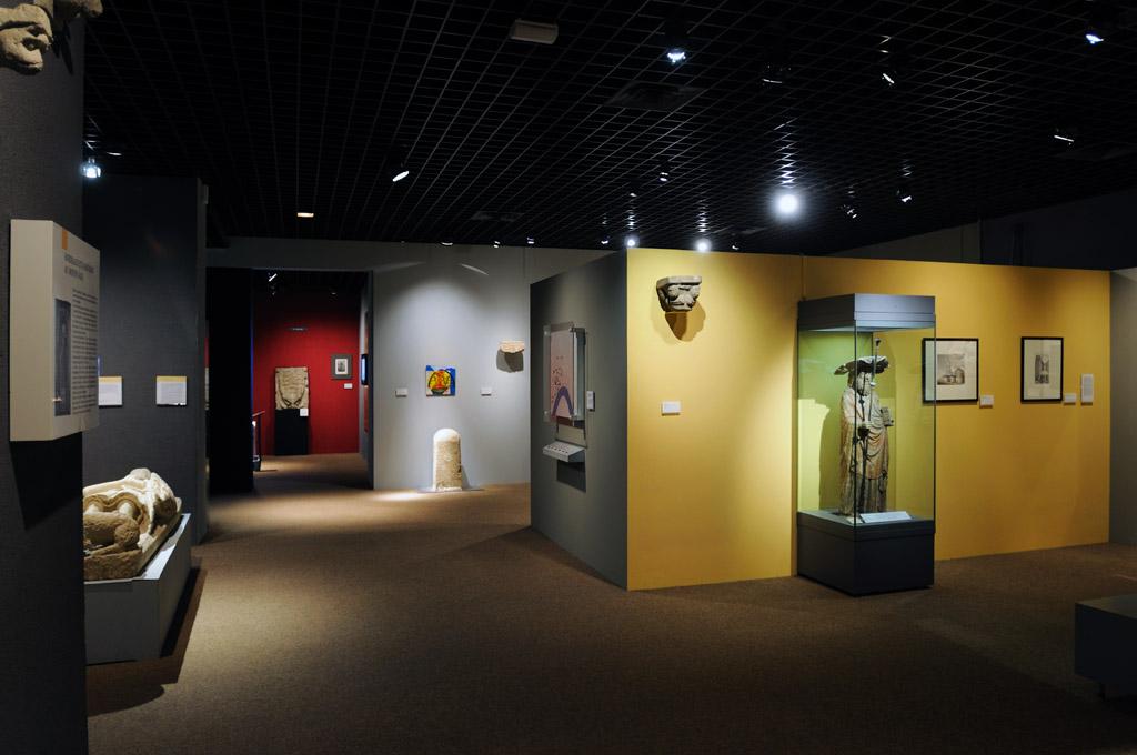 Musée d'Aquitaine-Cohérence visuelle des salles d'exposition