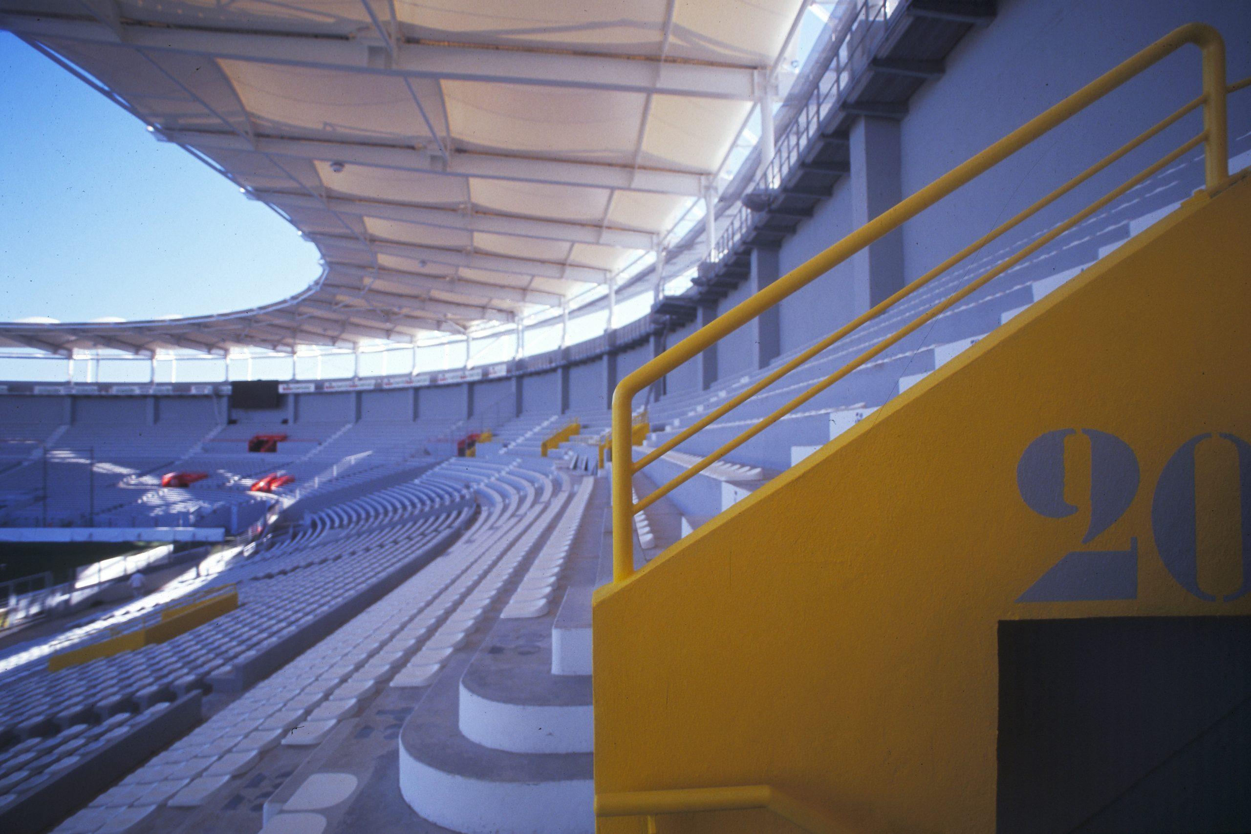 Stadium TOULOUSE-mise en couleur du site-arch Pierre FERRET