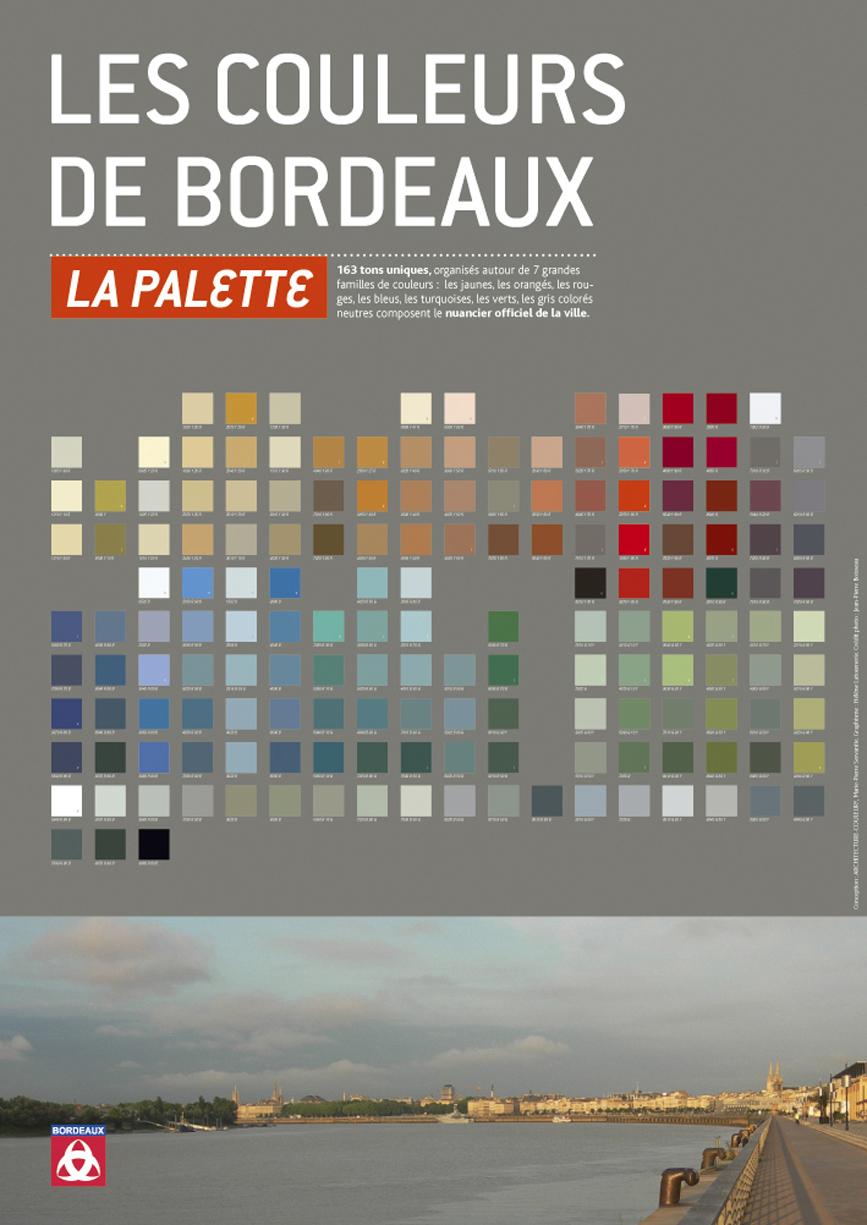 Charte Couleur – ville de Bordeaux