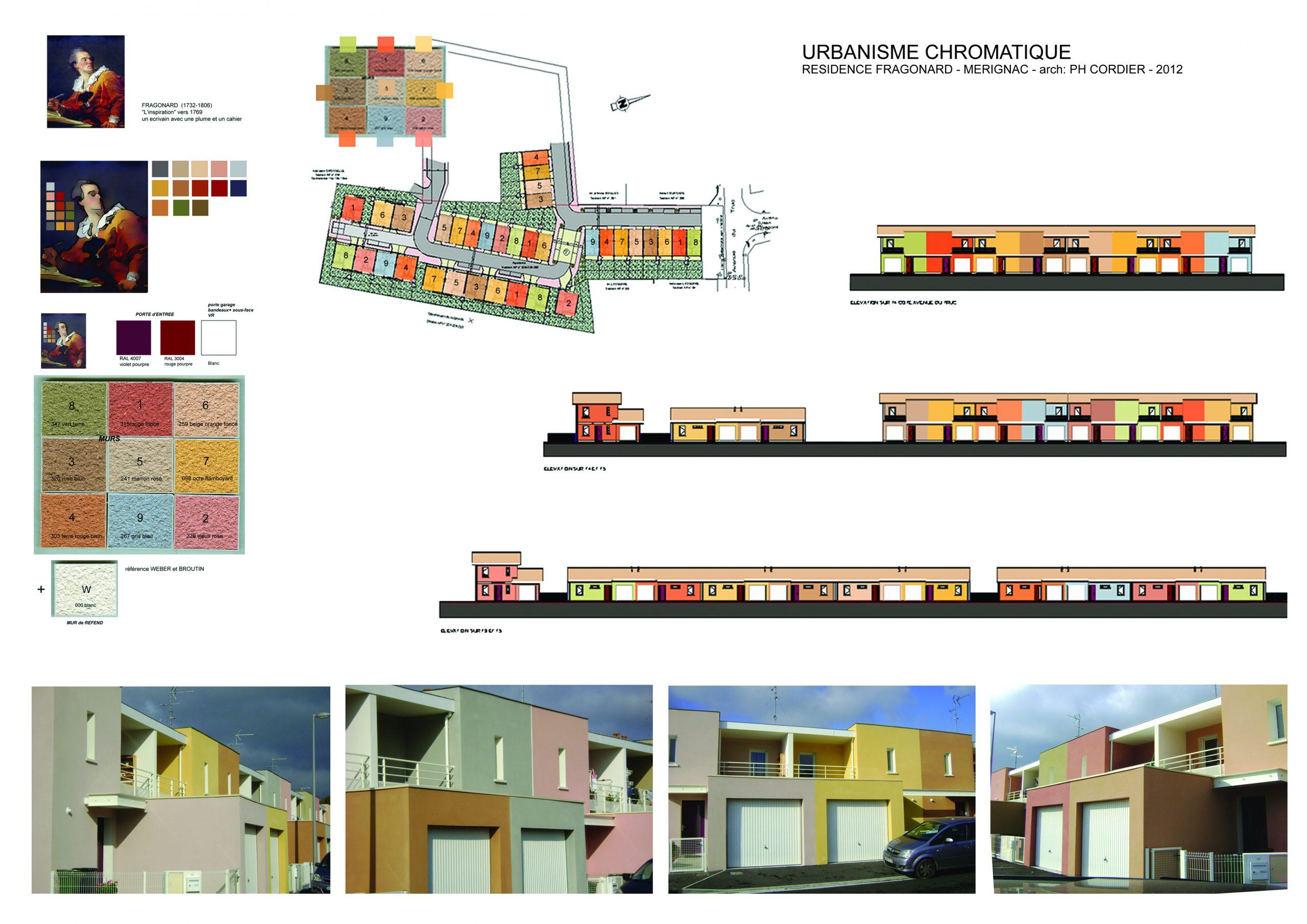 Lotissement- Urbanisme Chromatique-arch Philippe Cordier