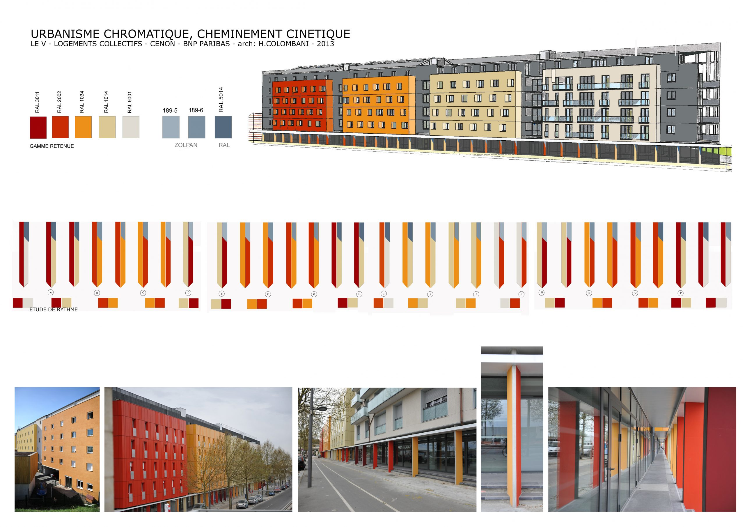 Collectifs-Chromo-architecture-arch Henry Colombani
