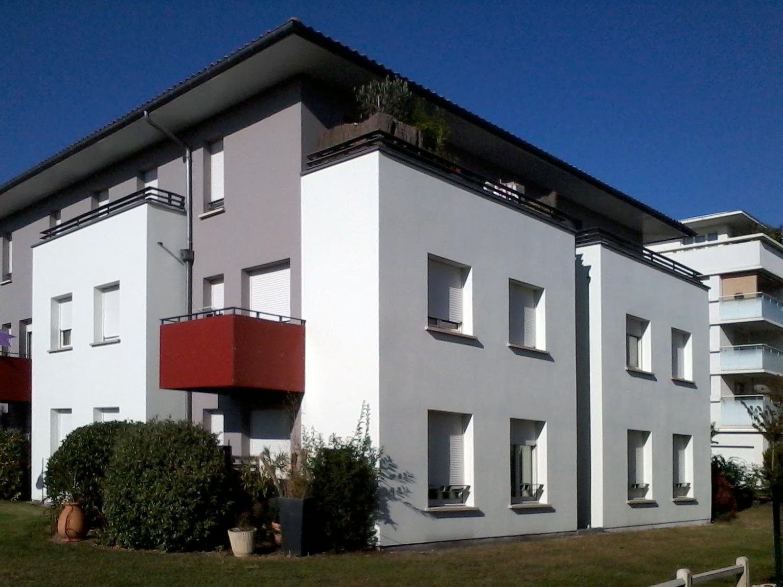 Nouveau quartier Bruges-valorisation des façades