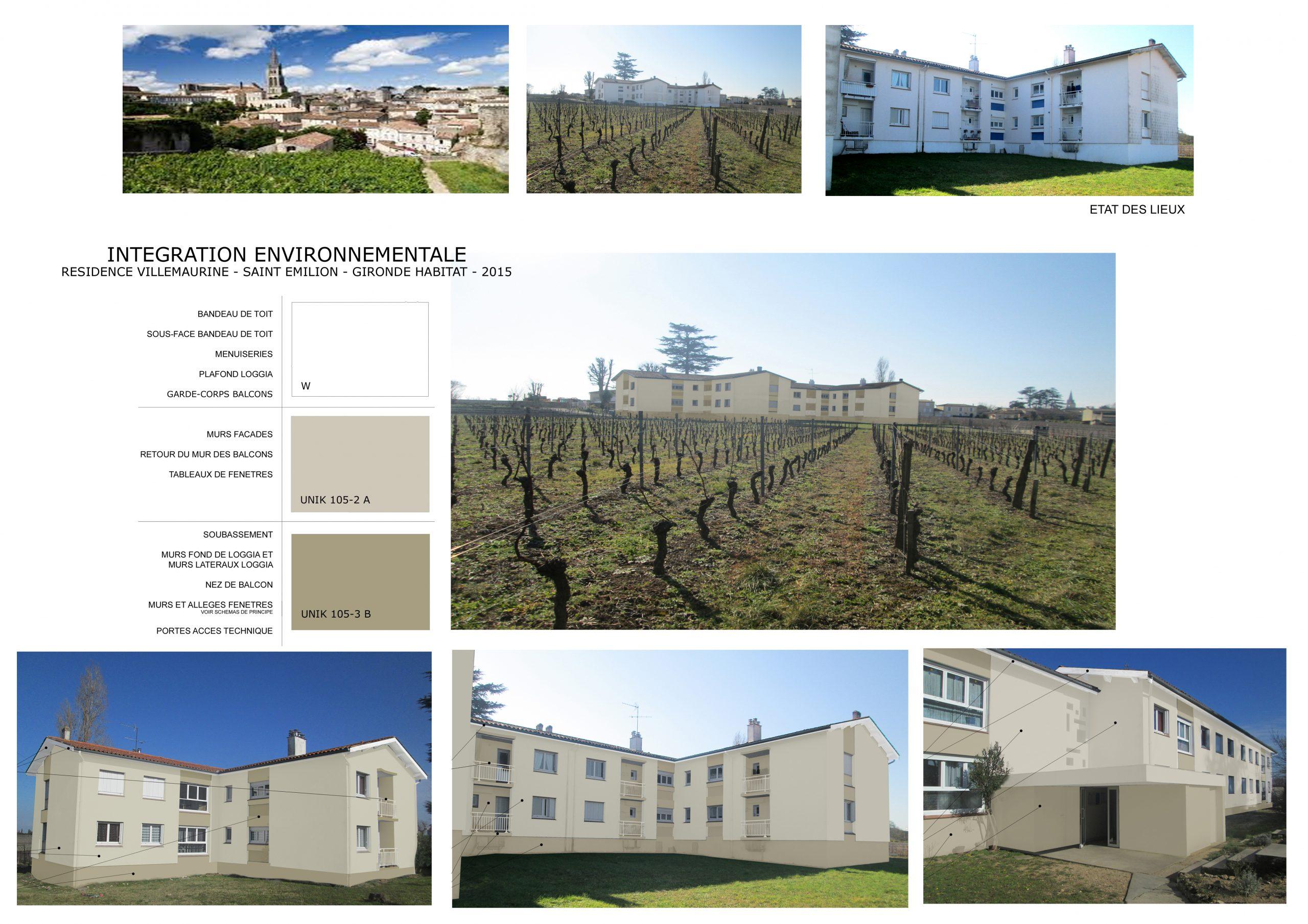 Paysagisme-Intégration environnementale- Saint Emilion