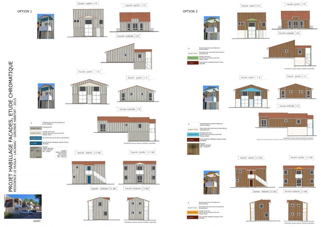Rénovation ossature bois-Rythmes et insertion -Lacanau le Hugla