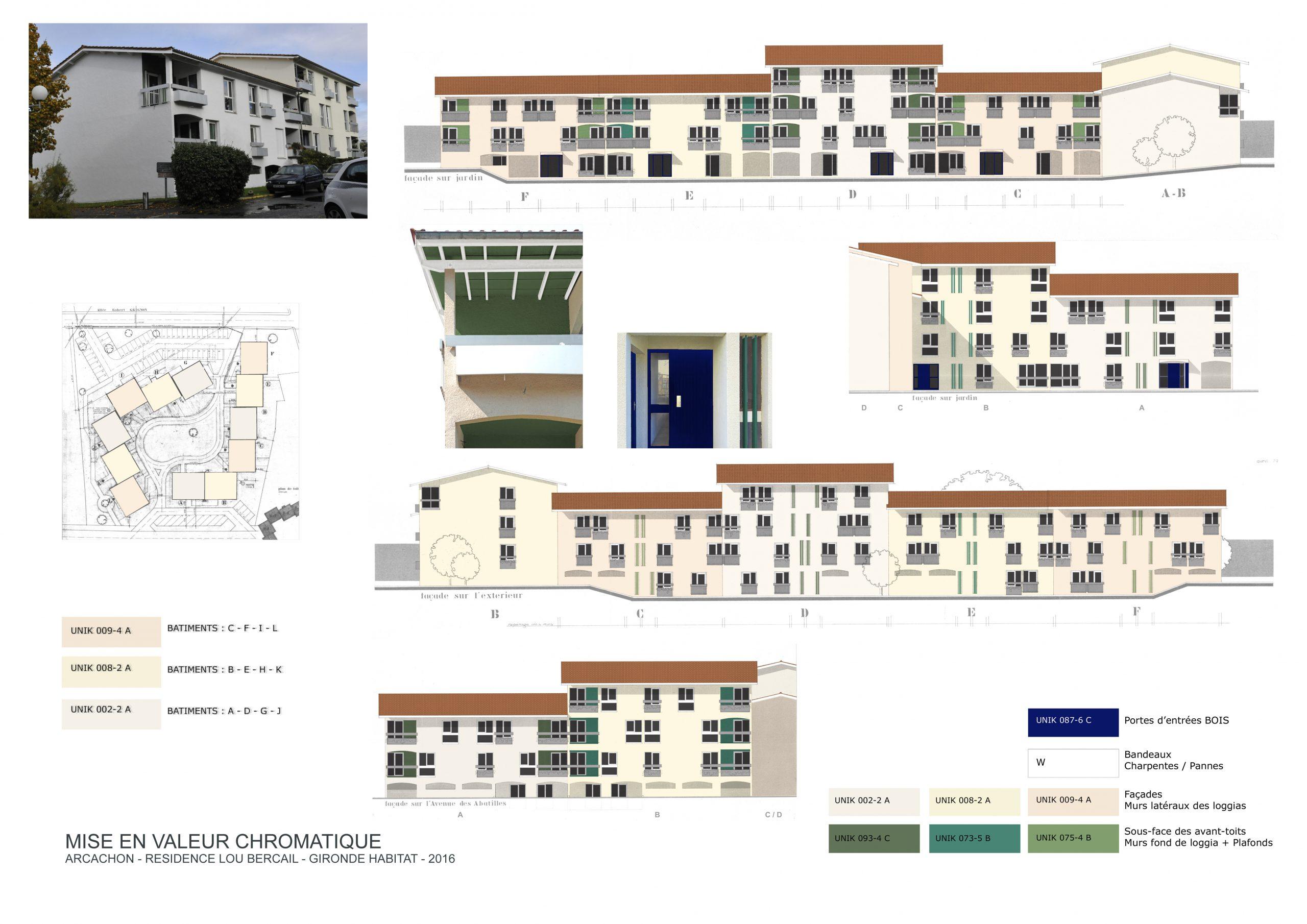 Valorisation des façades-Arcachon