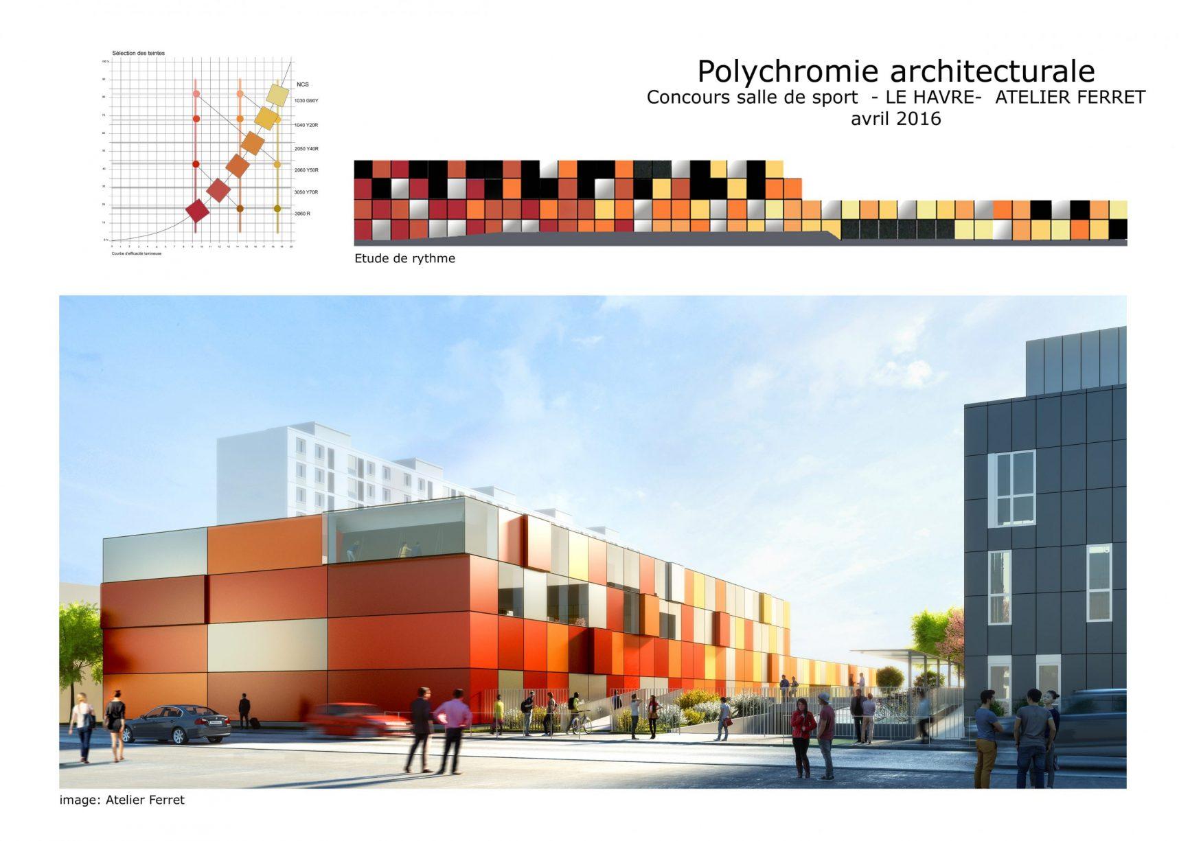 Polychromie architecturale urbaine-Concours
