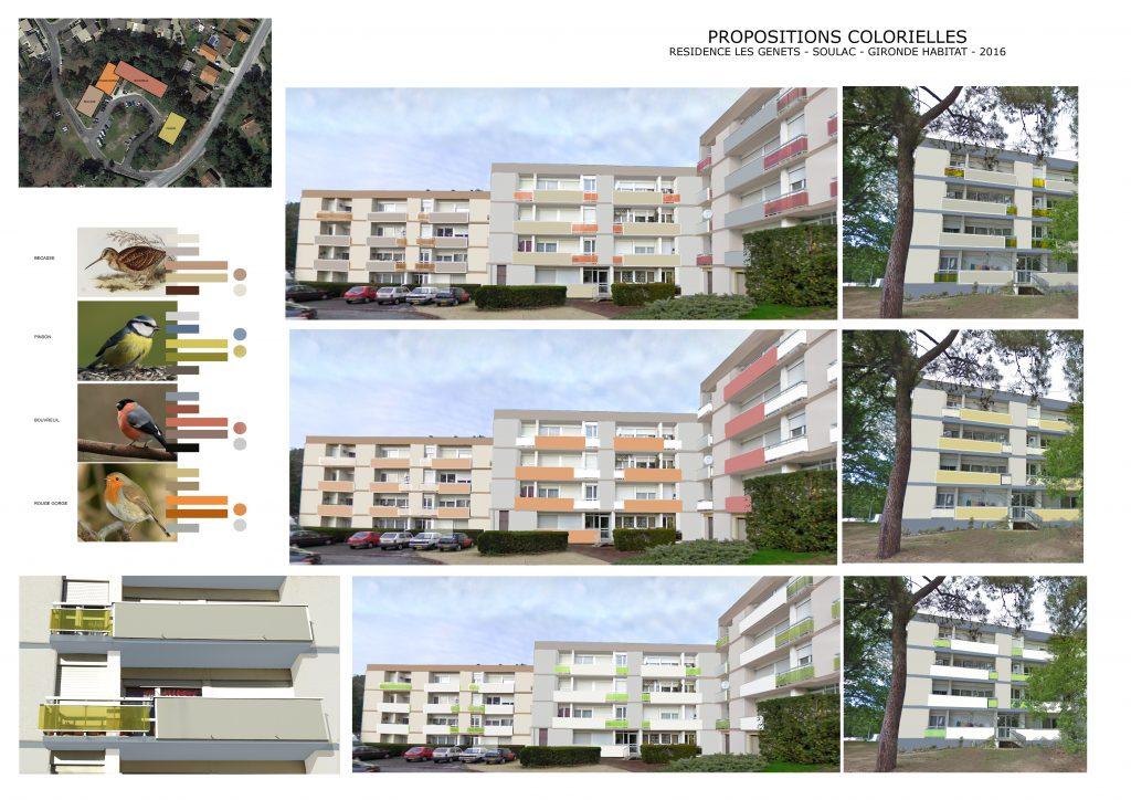 Rénovation de façades-Soulac