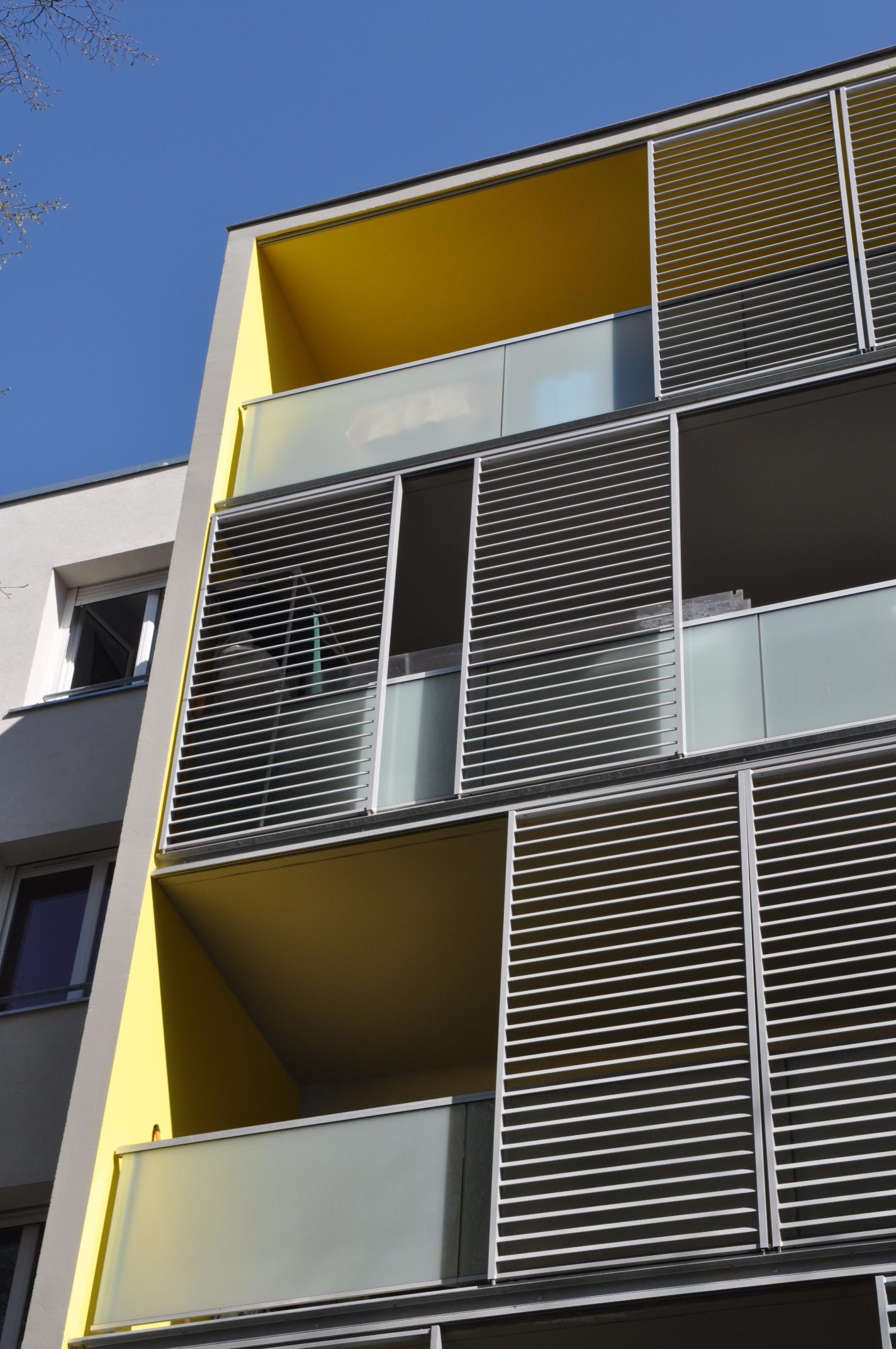 Nouveau quartier Gradignan-Mises en couleur des façades