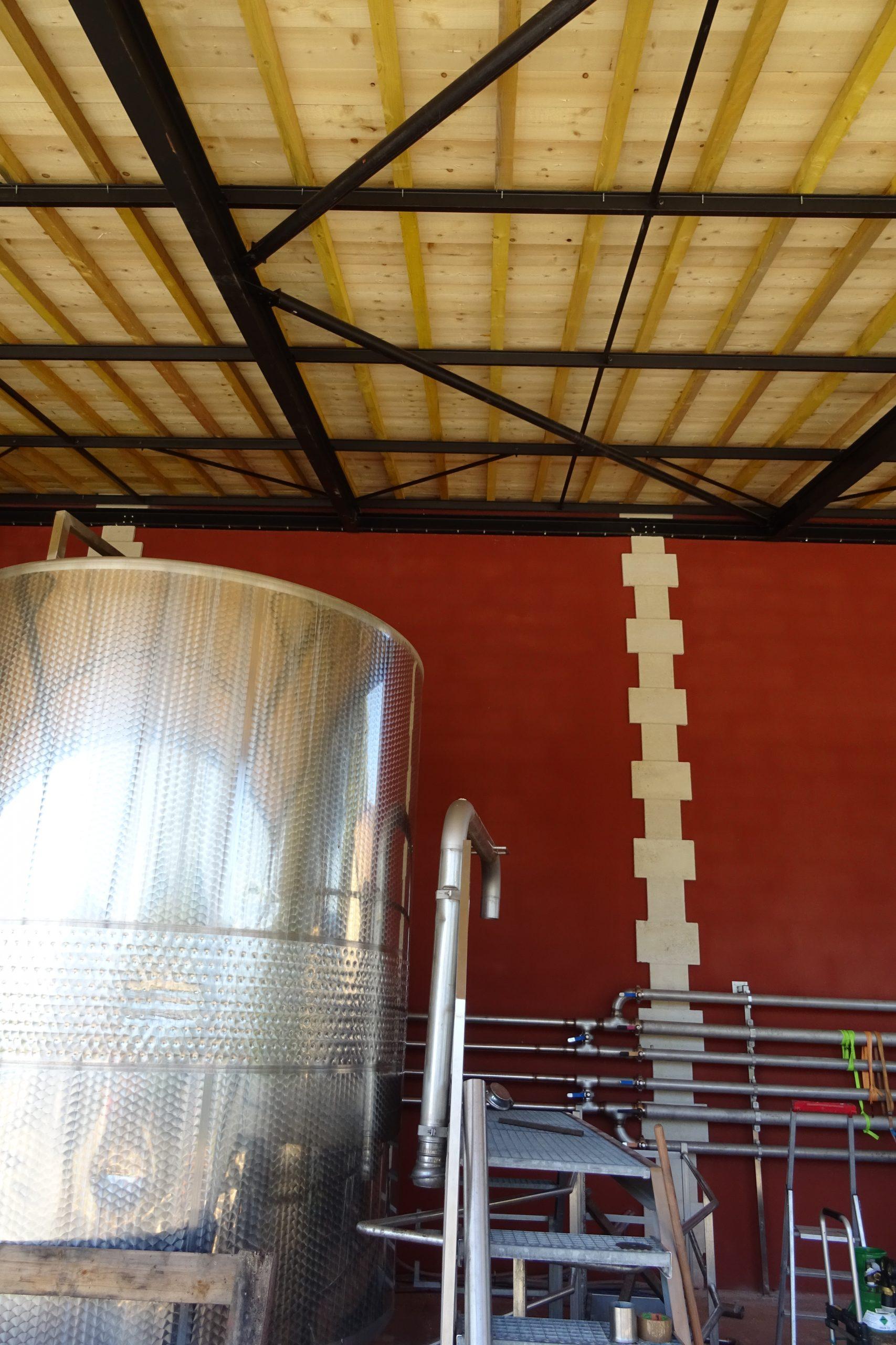 Propriété viticole- jeux de contraste