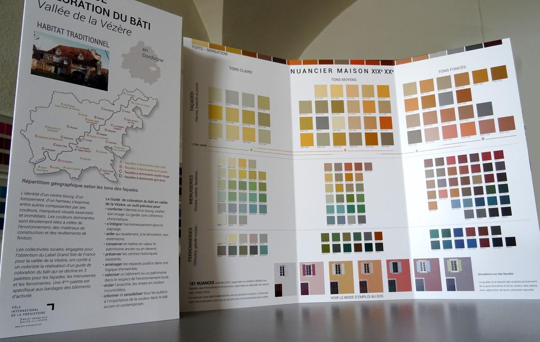 Guide officiel de coloration du bâti de la Vallée de la Vèzère