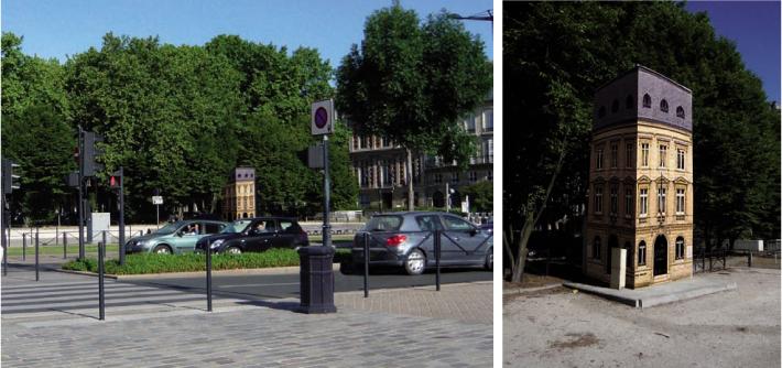 local EDF- Bordeaux-Trompe l'œil-Projet