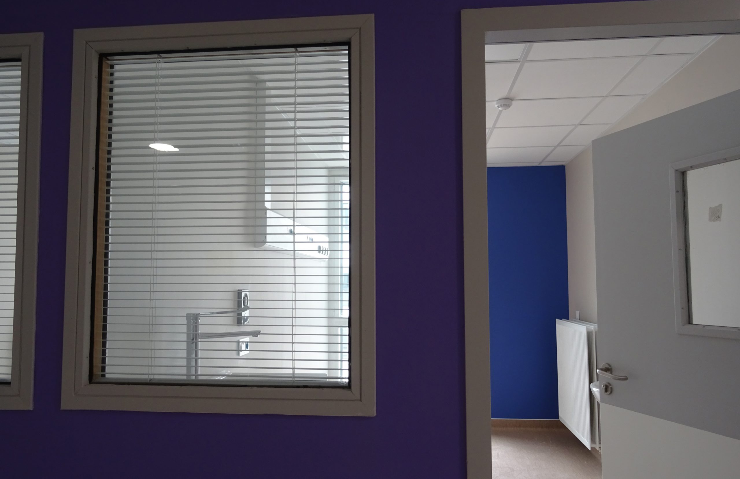 Nouvel Hôpital de Libourne-Ambiance accès laboratoire