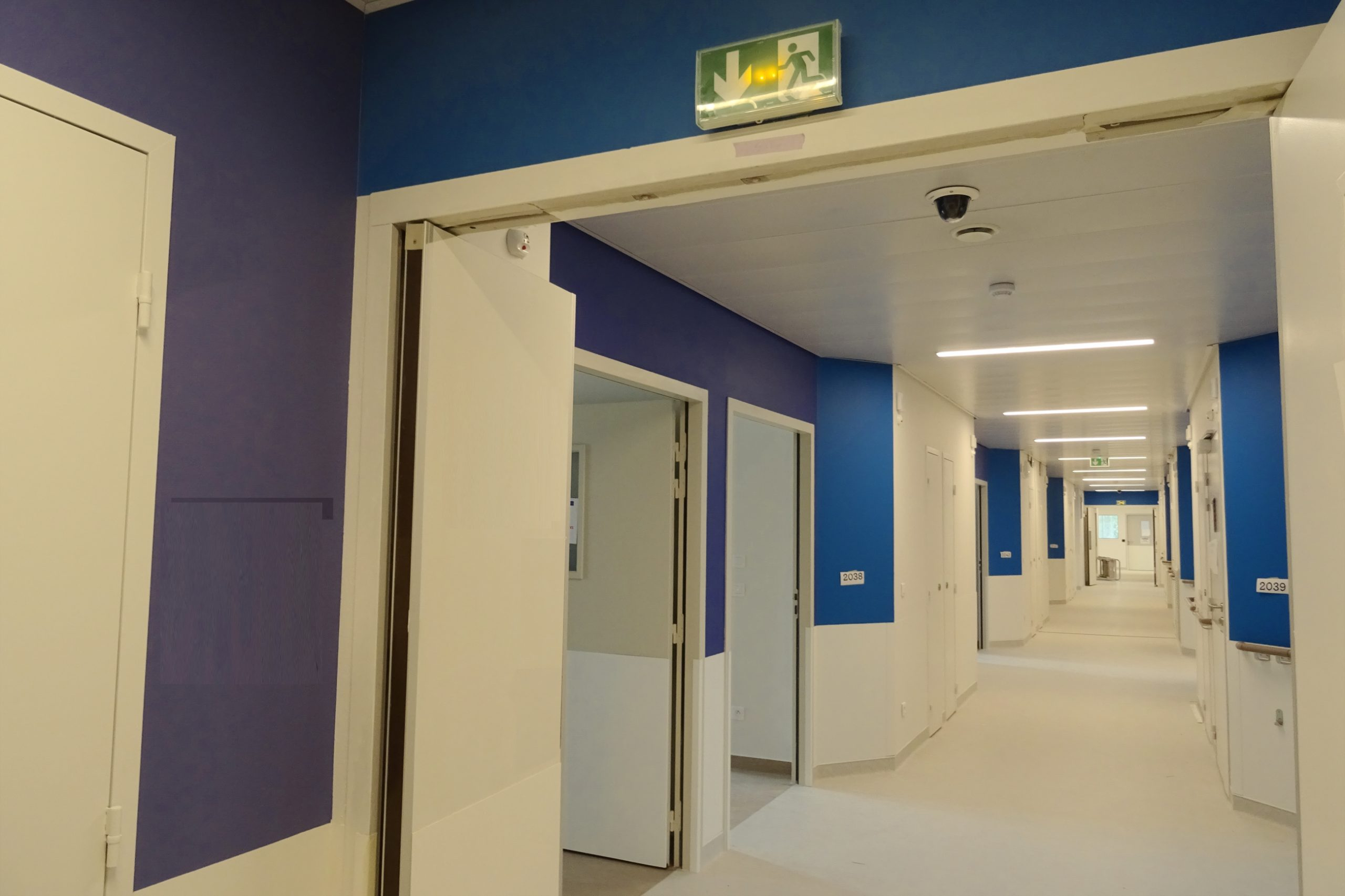 Nouvel Hôpital de Libourne-Ambiance circulation