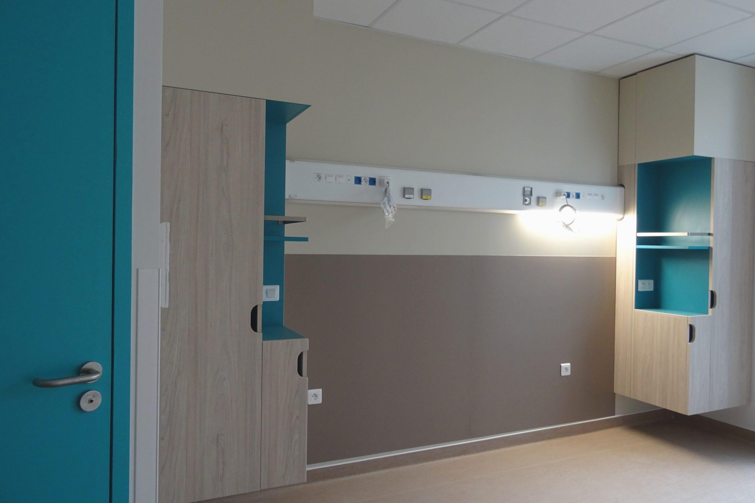 Nouvel Hôpital de Libourne-Ambiance chambre