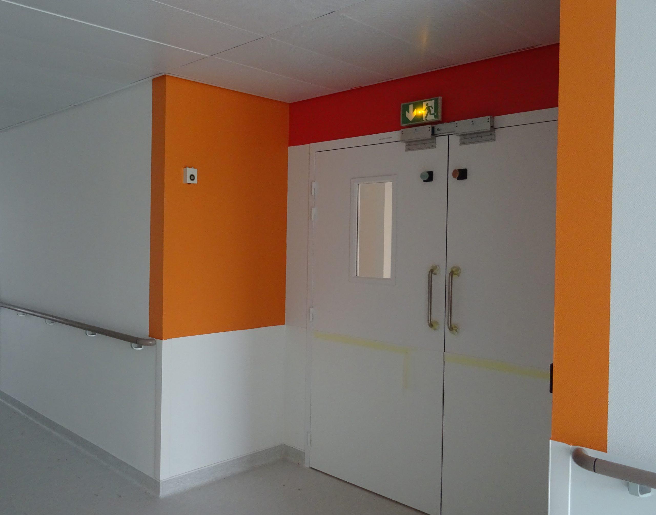 Nouvel Hôpital de Libourne-Accès chambre