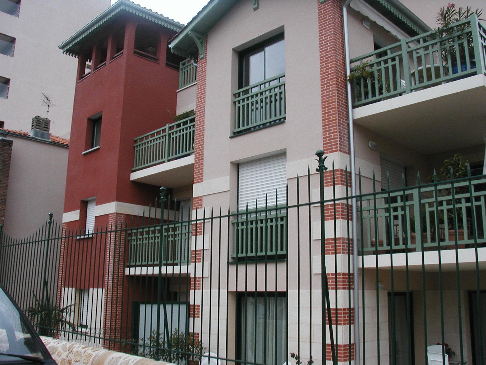 Nouveau quartier Arcachon-couleur et matériau-arch JP Touchard