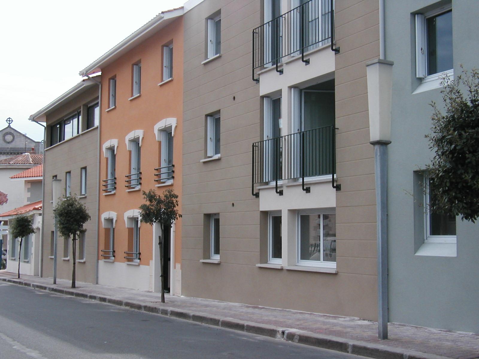 Paysage urbain-mise en couleur des façades-arch JP Touchard