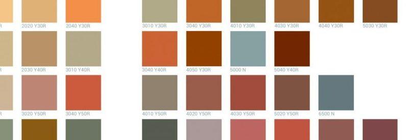 Guide de coloration de la vallée de la Vèzère-Nuancier officiel