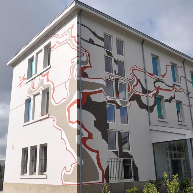 Murs peints-animation graphique