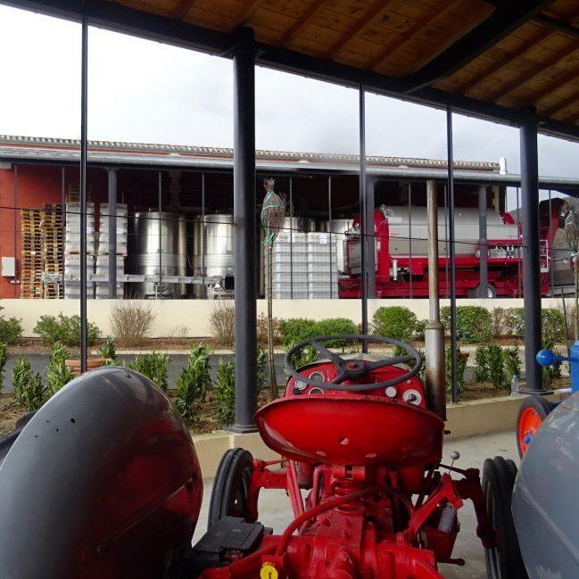 Bâtiment industriel – Chai viticole