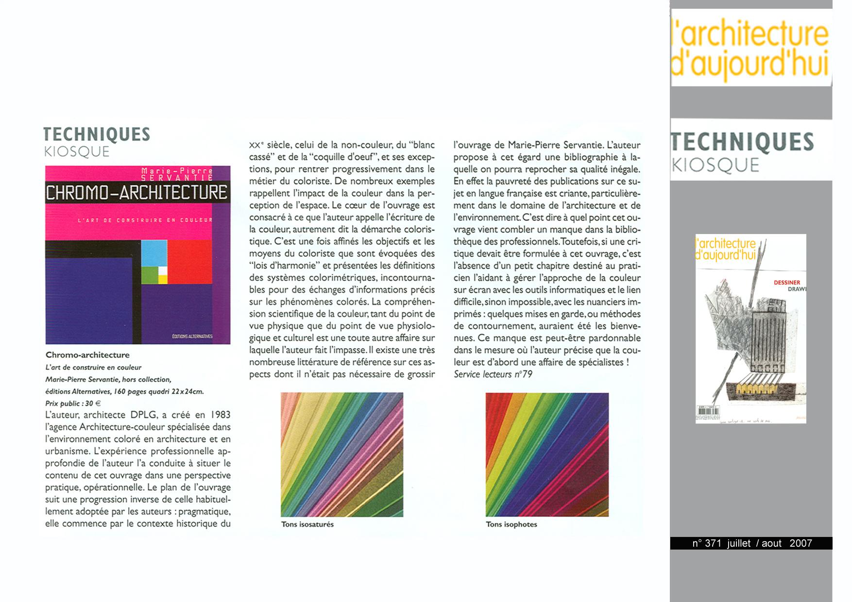 2007-08- 07, 18 l'Architecture d'Aujourd'hui