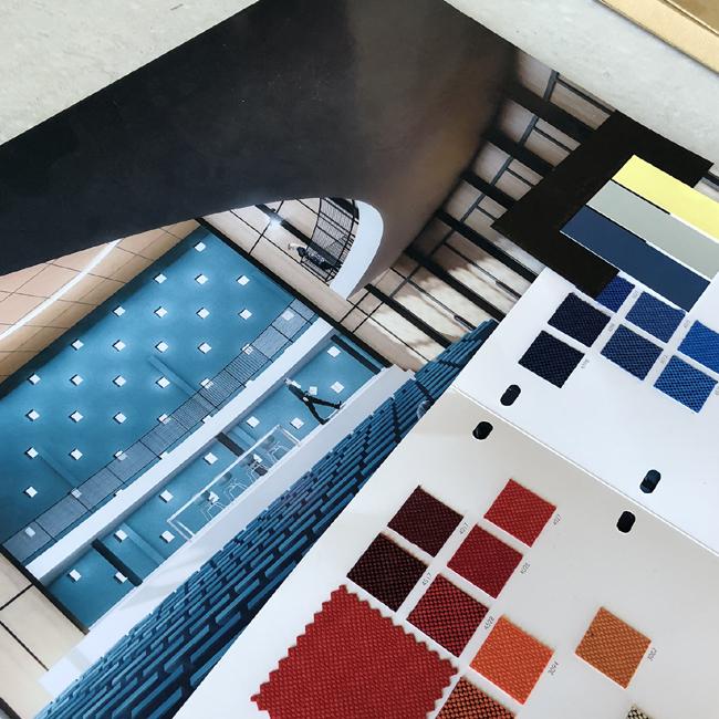 Salle des congrès -Royan- Etude- arch atelier Ferret architectures