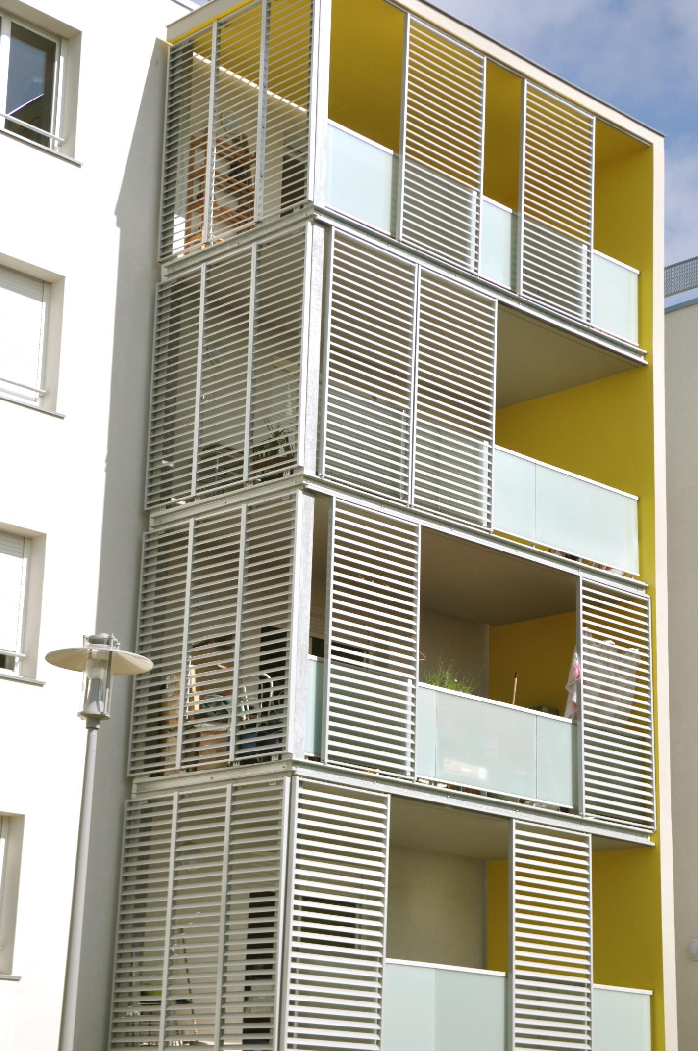 Logements Gradignan-chromo-architecture